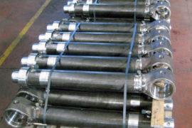 Applicazione martinetti idraulici in Edilizia