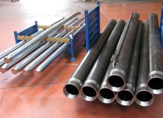 Applicazione martinetti idraulici nel settore industriale